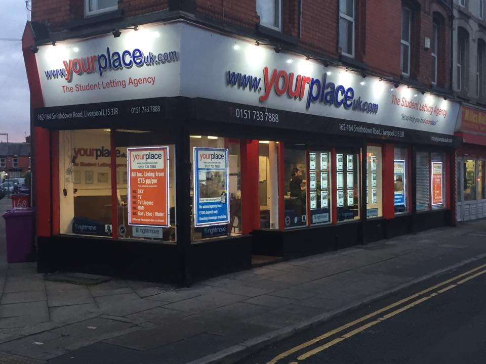 Your place -frontage